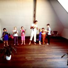 Kindertraining Basel, Musik spielen